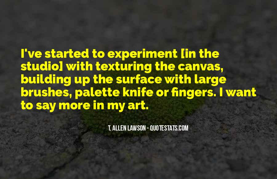 Quotes About Art Canvas #236960