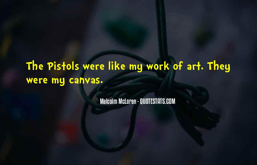 Quotes About Art Canvas #308444