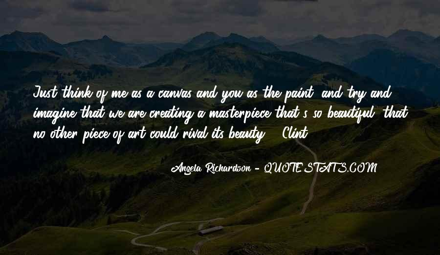Quotes About Art Canvas #332905