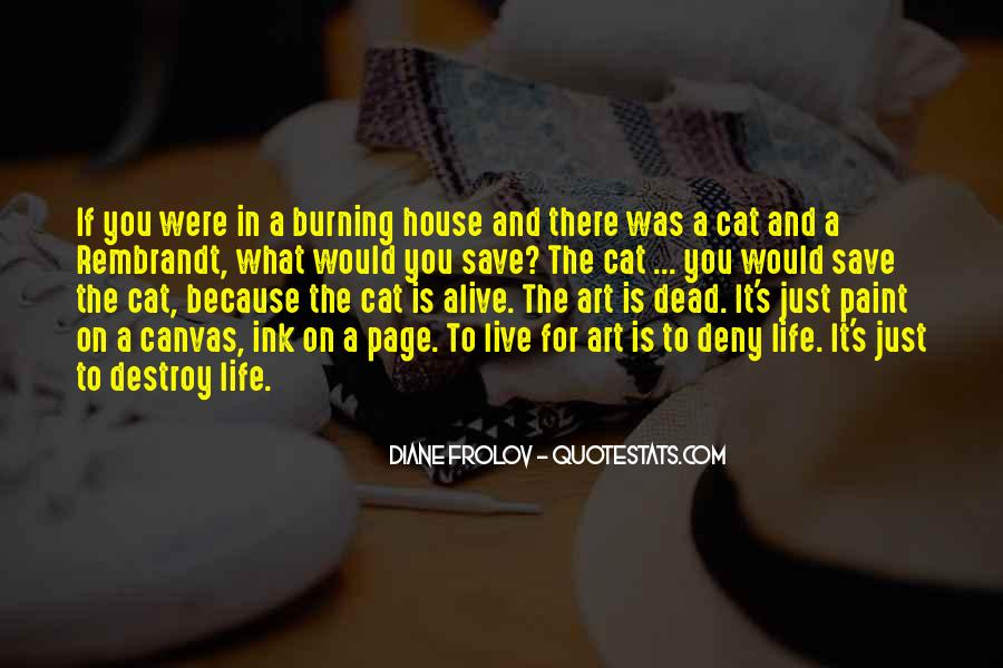 Quotes About Art Canvas #453778