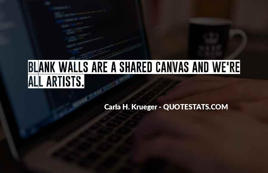 Quotes About Art Canvas #489355