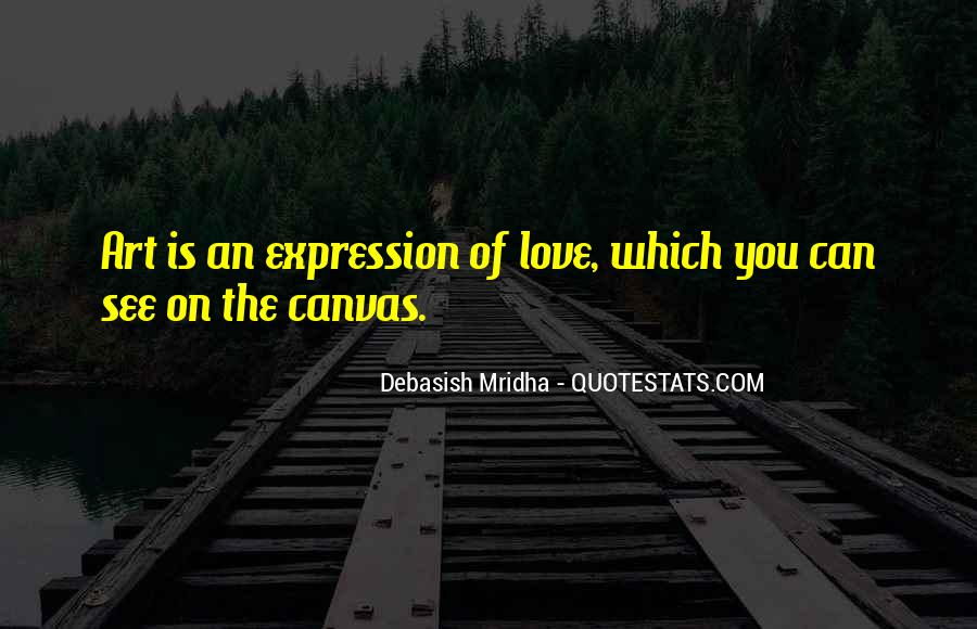 Quotes About Art Canvas #56150