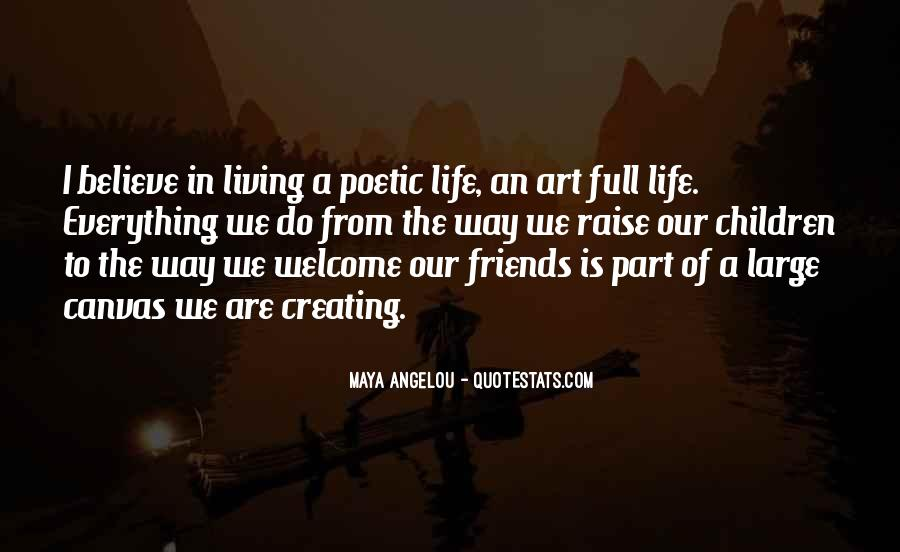 Quotes About Art Canvas #770179