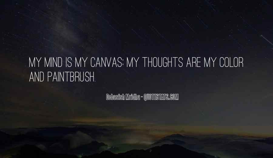 Quotes About Art Canvas #805885