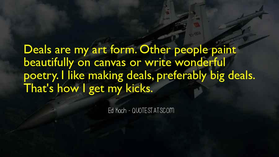 Quotes About Art Canvas #9970