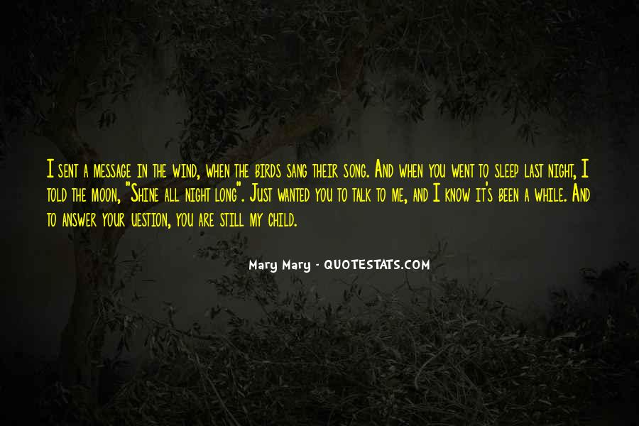 Sleep Song Quotes #1044472