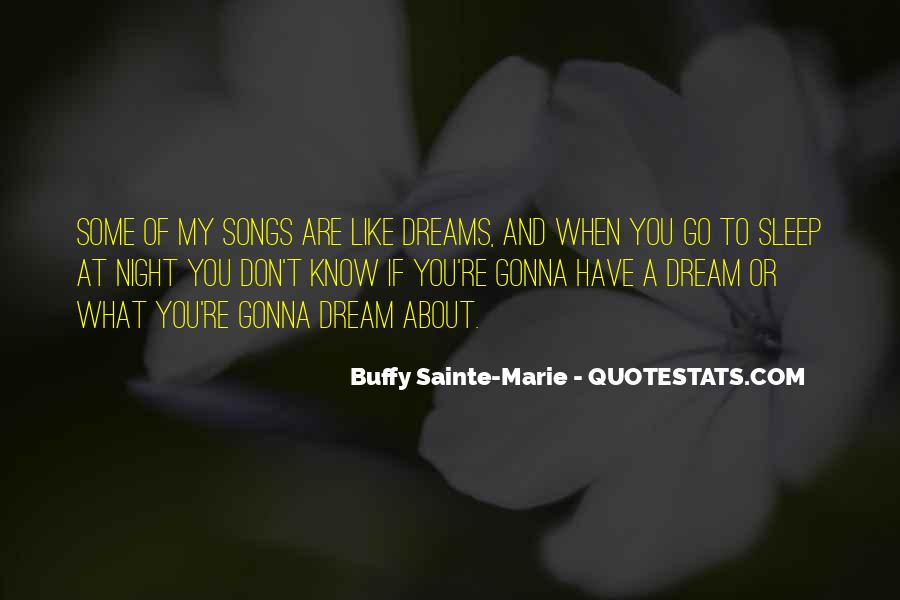 Sleep Song Quotes #1273218