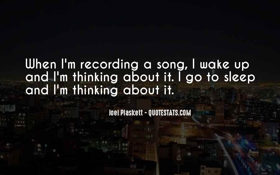 Sleep Song Quotes #1337385