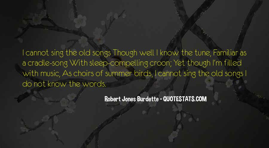 Sleep Song Quotes #1552840
