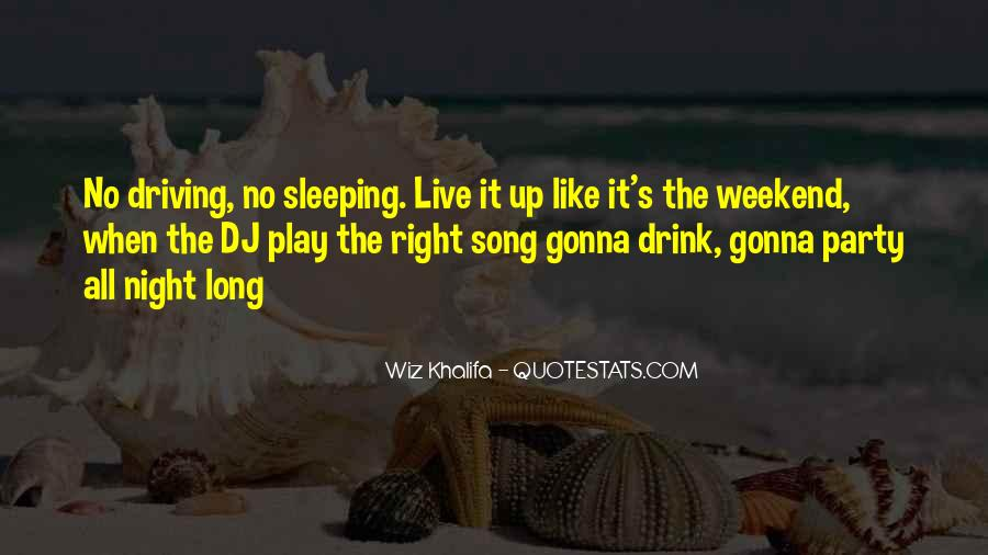 Sleep Song Quotes #1654104