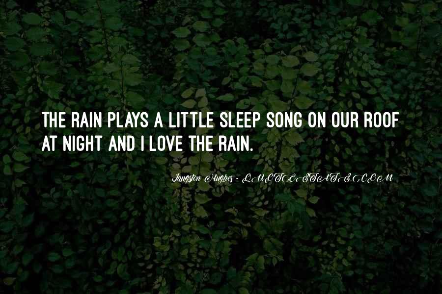 Sleep Song Quotes #1838975