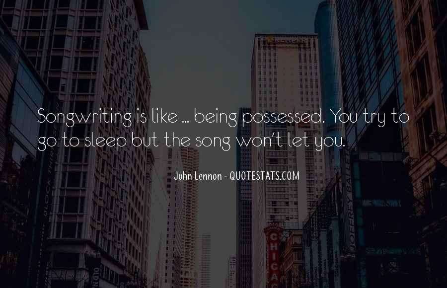Sleep Song Quotes #184581
