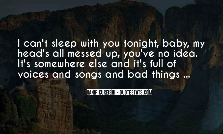 Sleep Song Quotes #692431