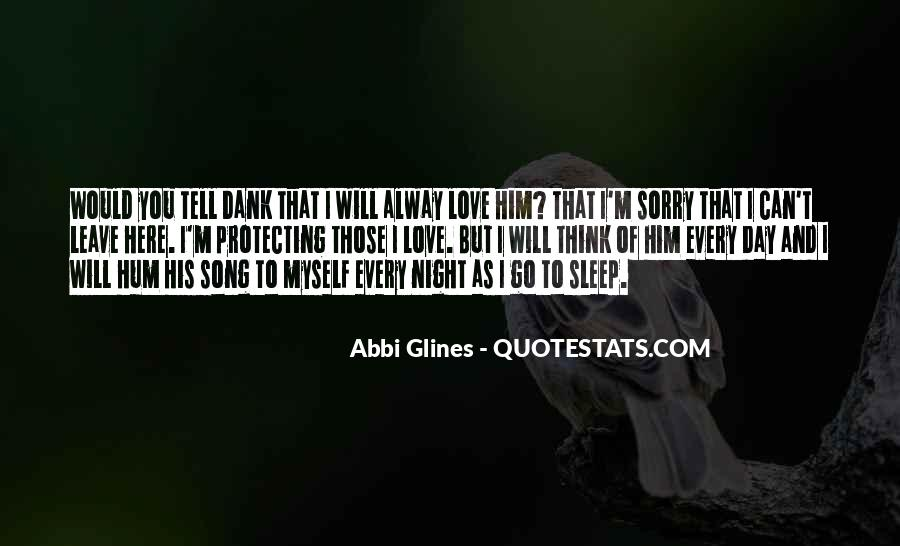 Sleep Song Quotes #872871