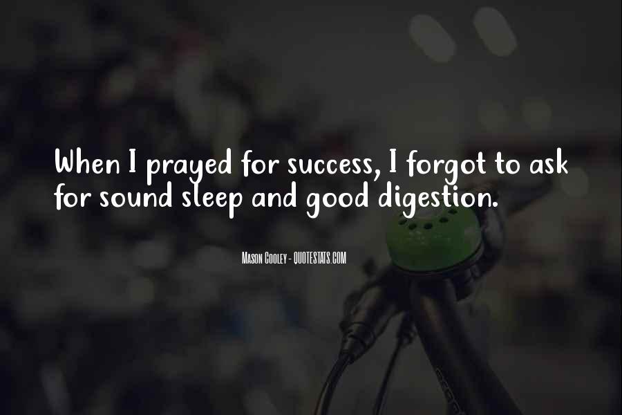 Sleep Sound Quotes #1049098