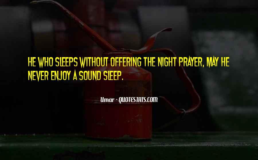 Sleep Sound Quotes #1196821