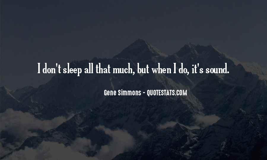 Sleep Sound Quotes #1288844