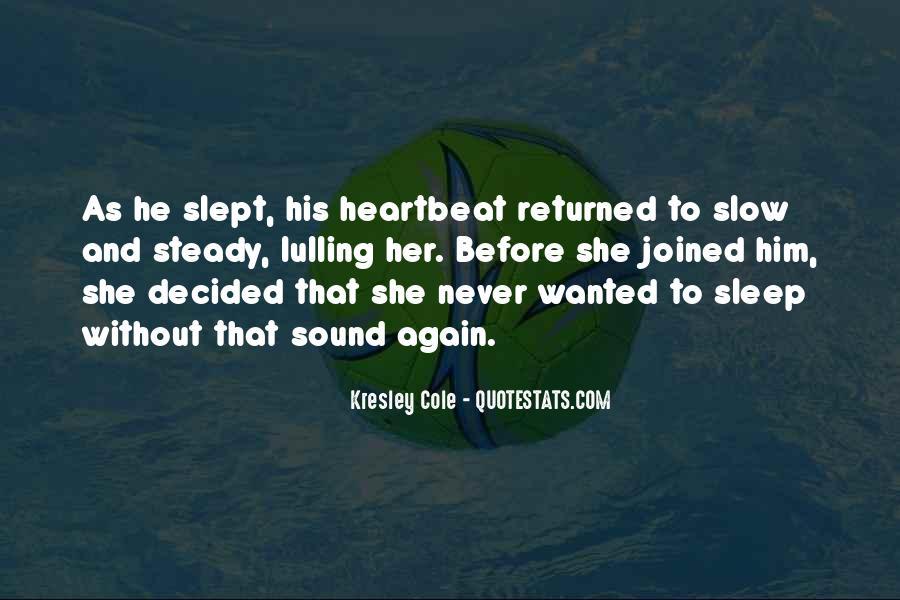 Sleep Sound Quotes #1625602