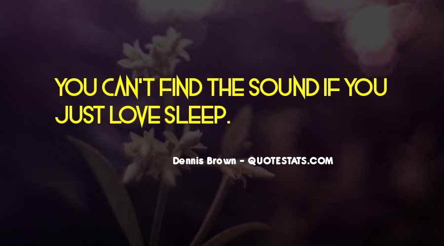 Sleep Sound Quotes #23399