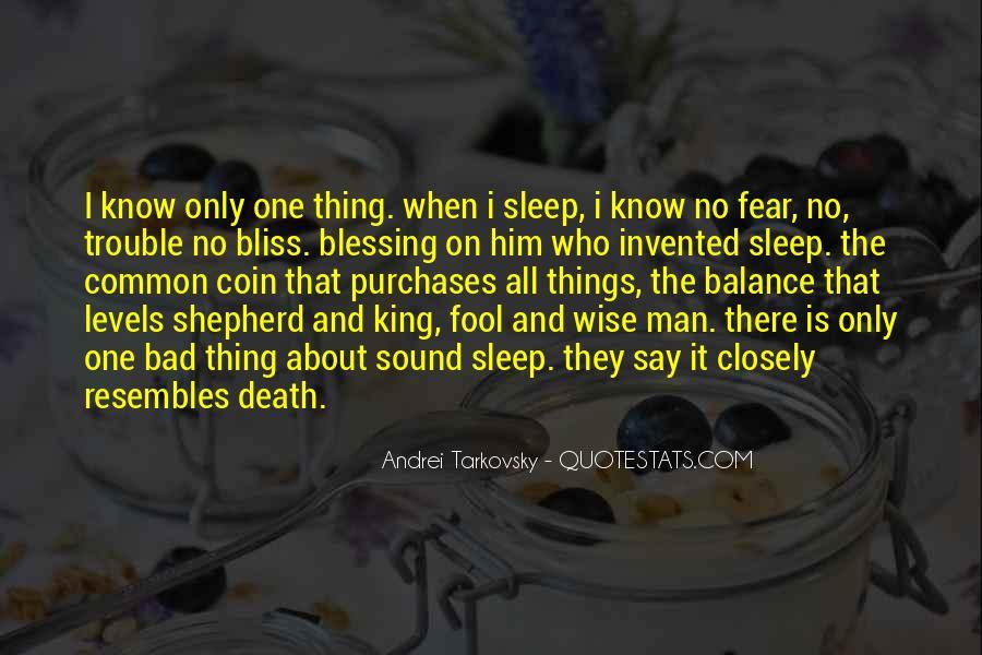 Sleep Sound Quotes #264249
