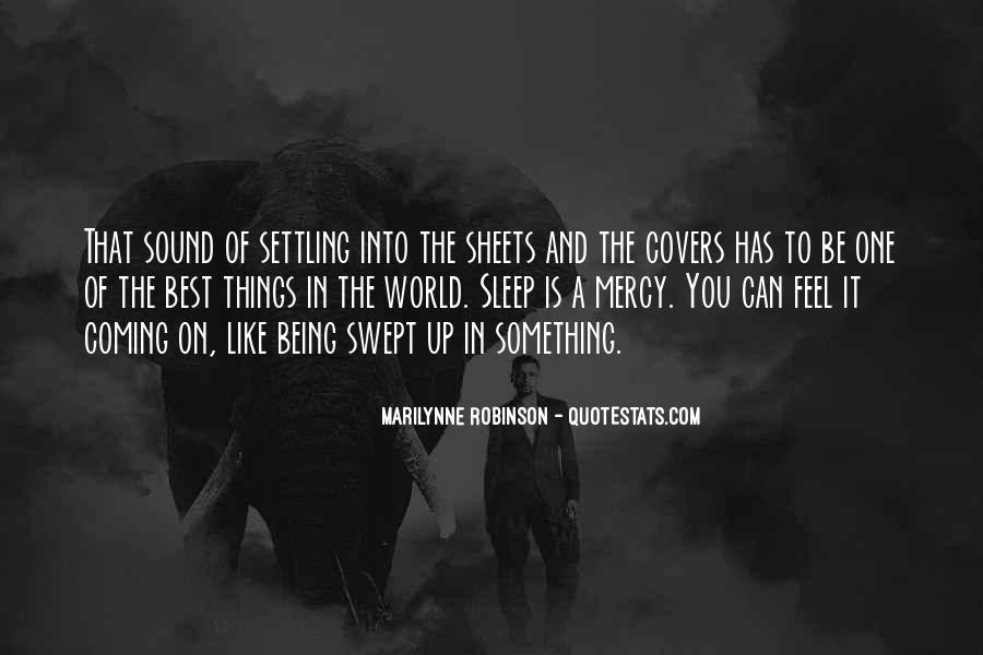 Sleep Sound Quotes #305260
