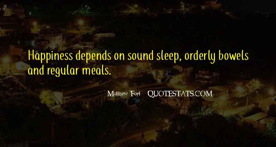 Sleep Sound Quotes #391929