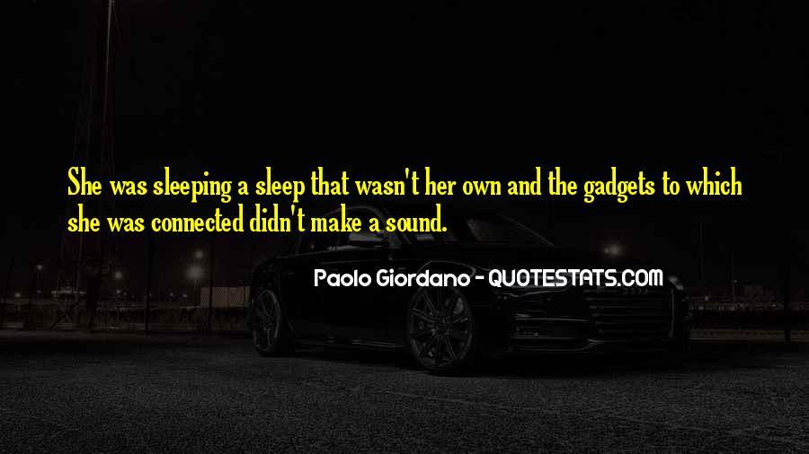 Sleep Sound Quotes #49377