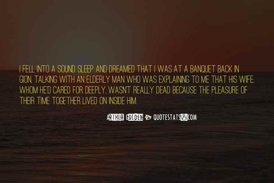 Sleep Sound Quotes #817849