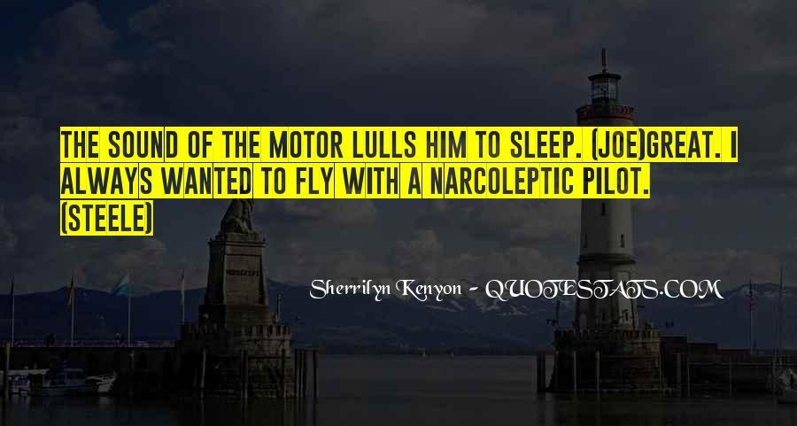 Sleep Sound Quotes #935555