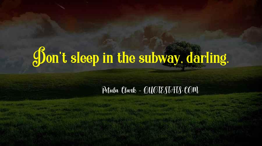 Sleep Well My Darling Quotes #591095
