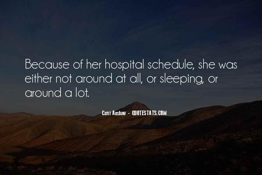 Sleeping Schedule Quotes #1425428