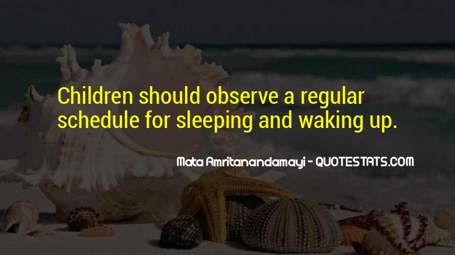 Sleeping Schedule Quotes #37913