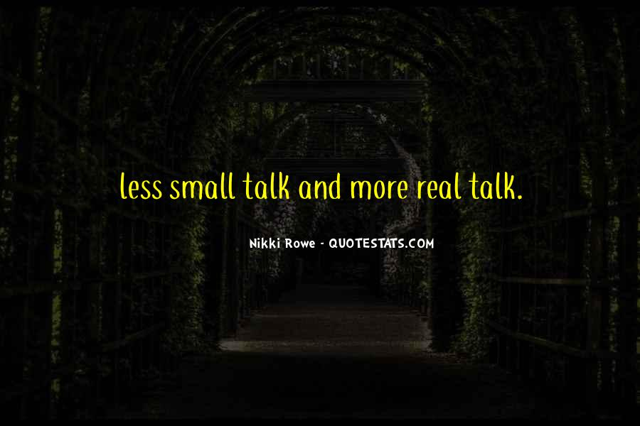 Small But Meaningful Quotes #376742