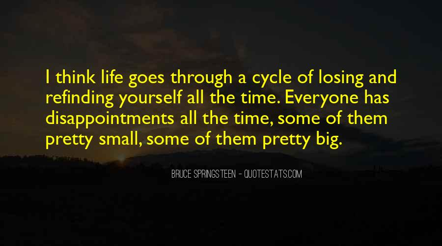 Small Disappointments Quotes #122013