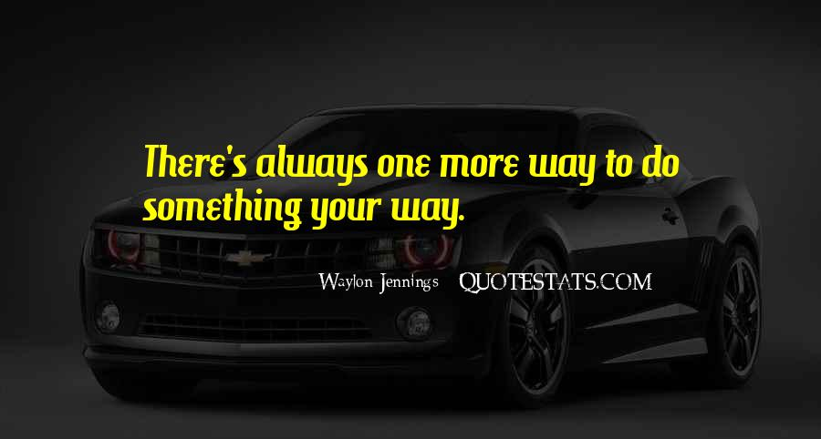 Quotes About Waylon Jennings #1092236