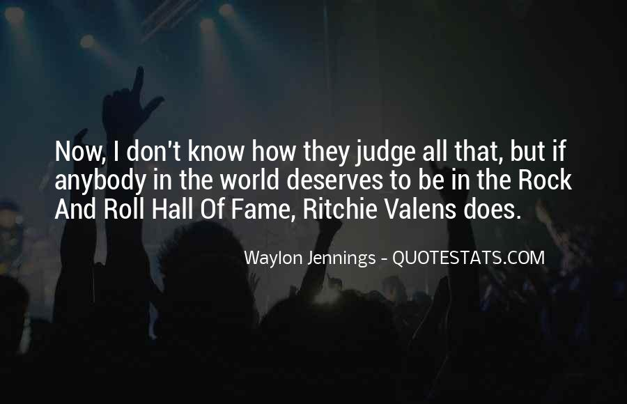 Quotes About Waylon Jennings #1575335