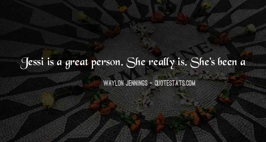 Quotes About Waylon Jennings #1752815