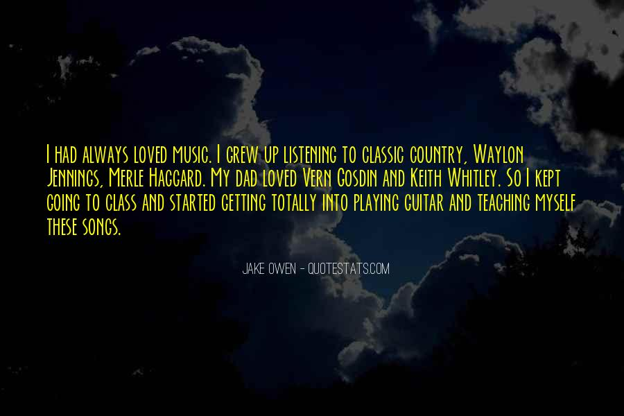 Quotes About Waylon Jennings #1785436