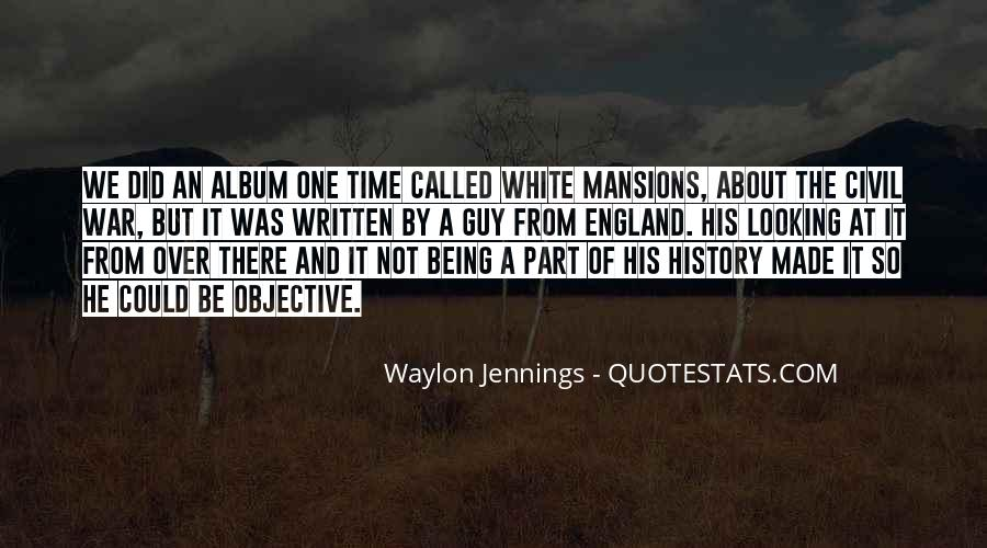Quotes About Waylon Jennings #275621