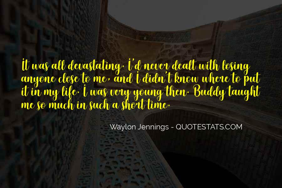 Quotes About Waylon Jennings #566084