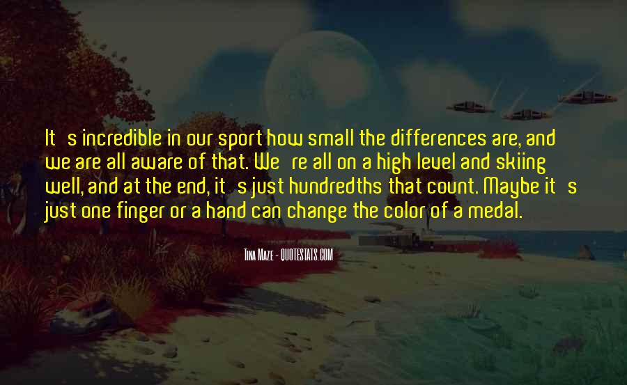 Small Things Count Quotes #1049037