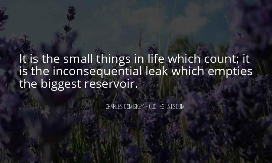 Small Things Count Quotes #1454442