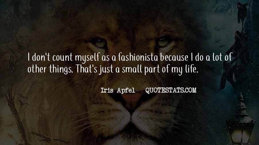 Small Things Count Quotes #1542312
