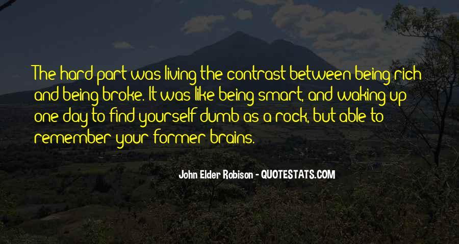 Smart Brains Quotes #1066172
