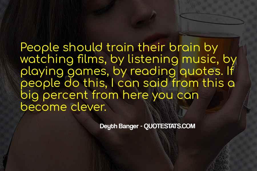 Smart Brains Quotes #315858