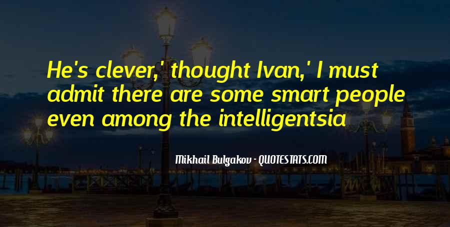 Smart Clever Quotes #1440522