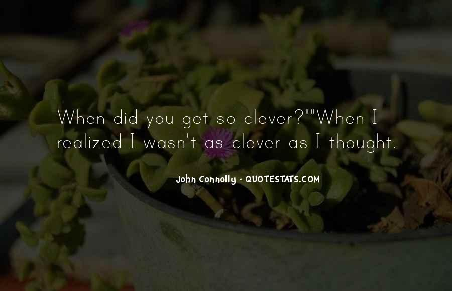 Smart Clever Quotes #1674773