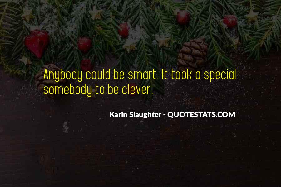 Smart Clever Quotes #1798630