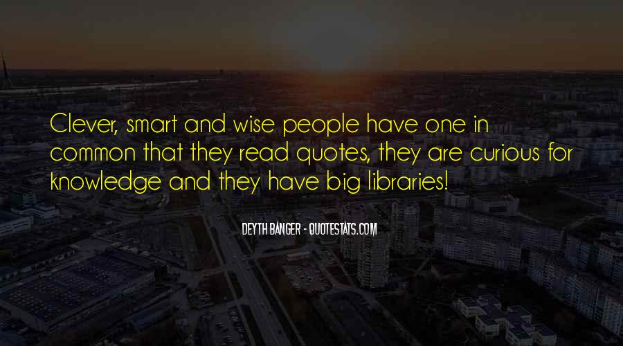 Smart Clever Quotes #322222