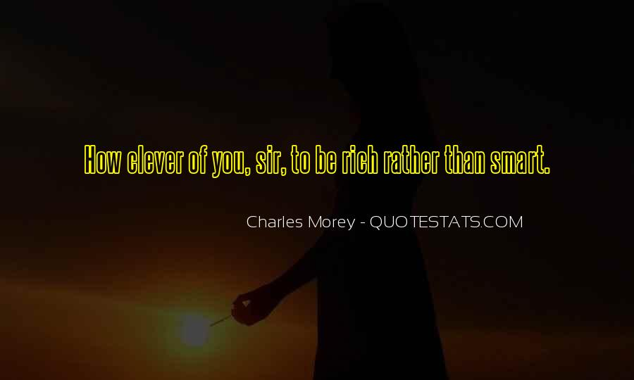 Smart Clever Quotes #996454